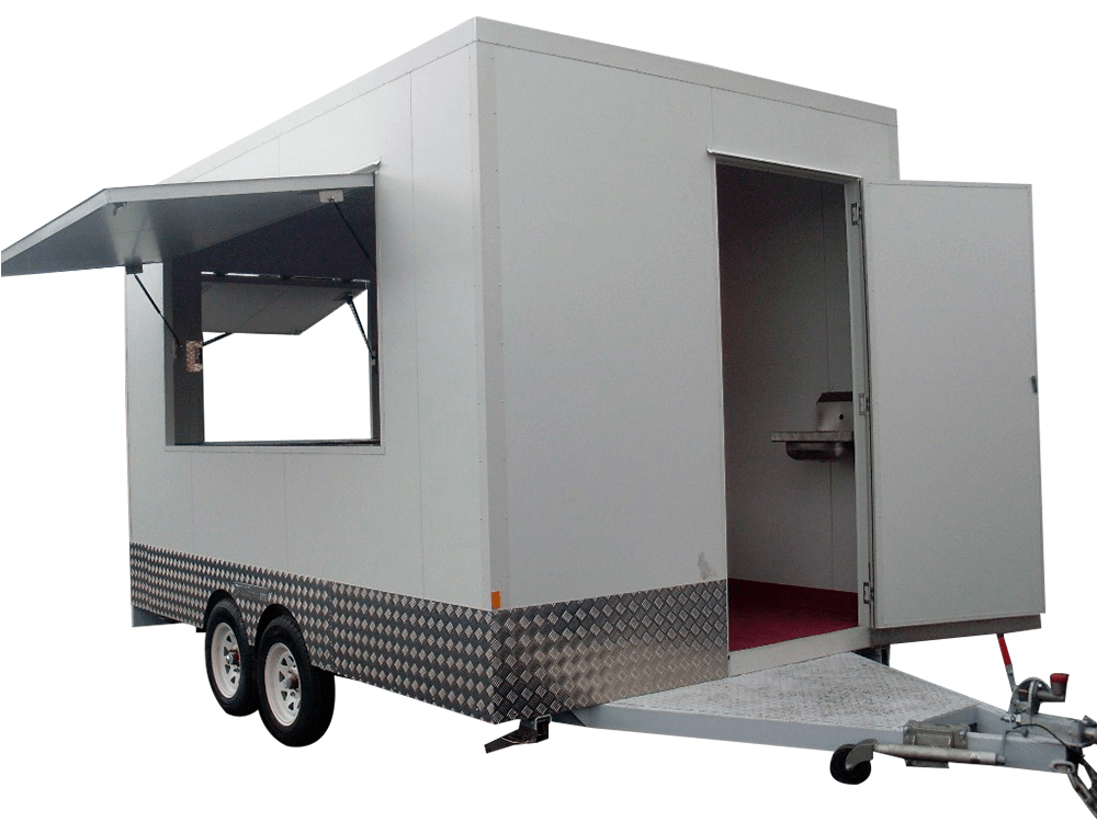 Mobile Food Van Trailer (made to order only)